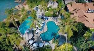 A view of the pool at Coral Cliff Beach Resort Samui - SHA Plus or nearby