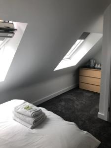 A bed or beds in a room at Polygon Villas