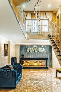 Лобби или стойка регистрации в Hotel Berezka