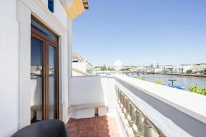 A balcony or terrace at Residencial Mares