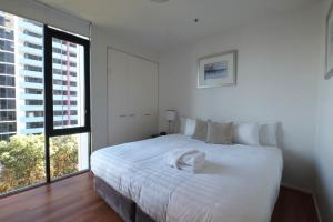 A bed or beds in a room at ACD Apartments