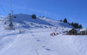 Les Brasses during the winter