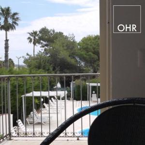 Vista sulla piscina di Hotel Aria di Mare o su una piscina nei dintorni