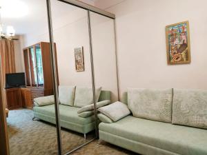 Гостиная зона в Apartment on Khoroshevskiy proyezd