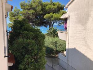 Výhľad na bazén v ubytovaní Adriatic House alebo v jeho blízkosti