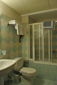 Ванная комната в Hotel Katerina