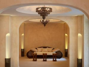 A seating area at The Romanos, a Luxury Collection Resort, Costa Navarino