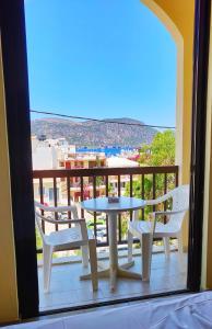 Μπαλκόνι ή βεράντα στο Titania Hotel Karpathos