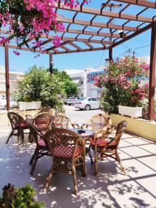 Εστιατόριο ή άλλο μέρος για φαγητό στο Titania Hotel Karpathos