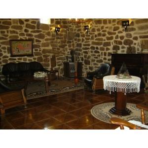 A seating area at Casa Grande Do Ribeiro