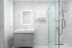 Ванная комната в Мини-Отель ГРК Горки 10