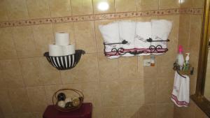 A bathroom at Villa Alta Bed&Breakfast