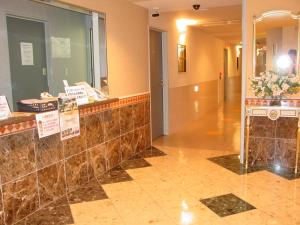 The lobby or reception area at Hotel GOLF Hodogaya (Adult Only)