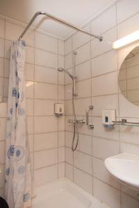 A bathroom at Hotel Bristol Internationaal