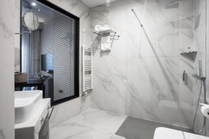 A bathroom at Solun Hotel & SPA