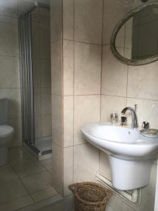 Salle de bains dans l'établissement L'Atelier de Tess