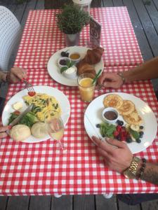 Breakfast options available to guests at Pearl of Sopot