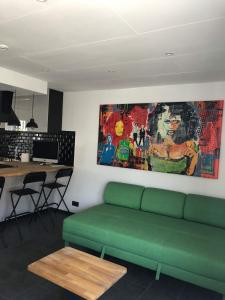 A seating area at Froissart Studio