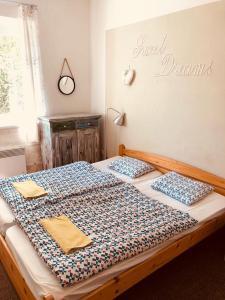 Postel nebo postele na pokoji v ubytování Penzion Severka