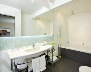 A bathroom at Hotel Sepia