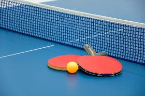 Ping-pong facilities at Torquay Tropicana Motel or nearby