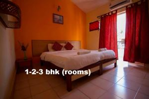 A bed or beds in a room at Lifestyle villa