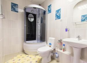 Ванная комната в Clever Hotel