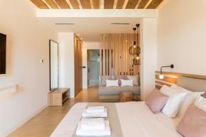 Un ou plusieurs lits dans un hébergement de l'établissement Sea View Residence