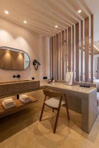Salle de bains dans l'établissement Sea View Residence