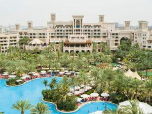 A view of the pool at Jumeirah Al Qasr or nearby