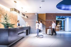 Lobbyen eller receptionen på Blue Bay Resort Hotel