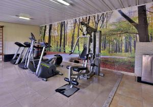 The fitness center and/or fitness facilities at Garden Hotel
