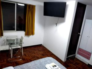 A television and/or entertainment centre at Santa Victoria House