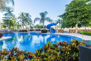 The swimming pool at or near Crocs Resort & Casino