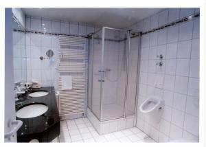 Ein Badezimmer in der Unterkunft Hotel Wittlicher Hof