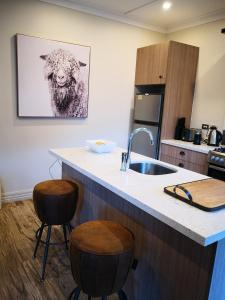 A kitchen or kitchenette at Cardrona Holiday Villa
