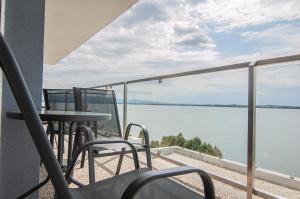 Balkón alebo terasa v ubytovaní Hotel Eurobus