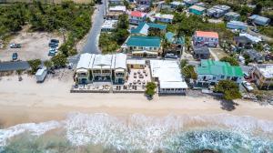 A bird's-eye view of Sebastian's on the beach hotel