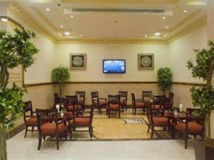منطقة البار أو اللاونج في Durrat Al Eiman Hotel
