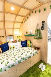 Cama o camas de una habitación en Avo-Condo
