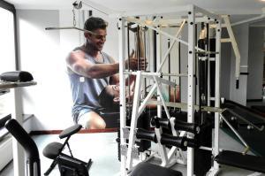 Centrum fitness w obiekcie Dom Wczasowy Jawor