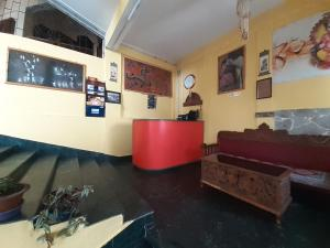 The lobby or reception area at King Thai Hotel and Restaurant