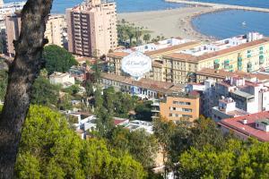 A bird's-eye view of La Casa Azul B&B + Apartments
