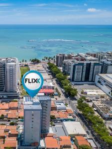 A bird's-eye view of Flix Hotel