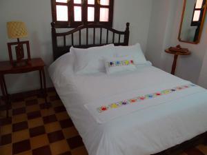 Cama o camas de una habitación en Casa de Zari B&B