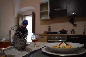 Cucina o angolo cottura di Casa del Bicio