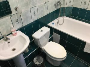 A bathroom at Guest house Eurasia