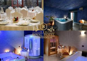 A restaurant or other place to eat at Royal Hotel Montevergine