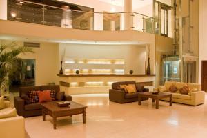 De lobby of receptie bij Cerro Mar Atlantico & Cerro Mar Garden