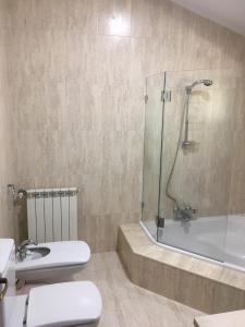 A bathroom at Casa dos Carvalhinhos